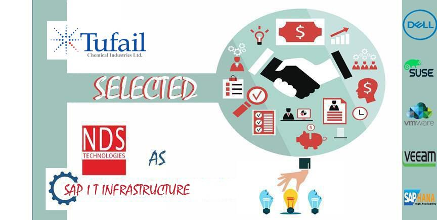 Tufail Chemicals selected NDS Technologies as SAP IT infrastructure