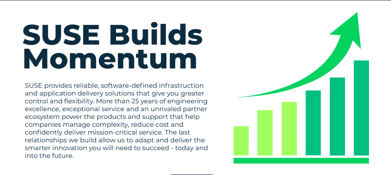 SUSE Momentum Infographics