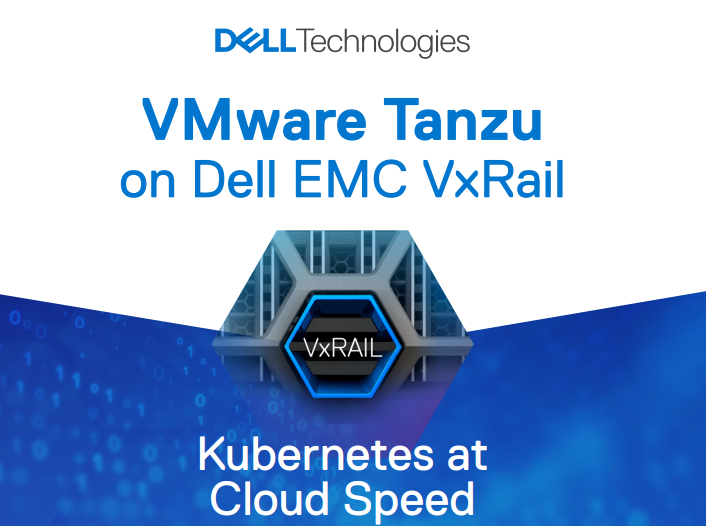 VMware Tanzu on Dell EMC VxRail