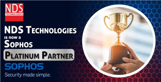 NDS Technologies Pvt Limited is now a Sophos Platinum Partner
